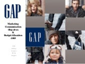 Gap Case Study (Group project)