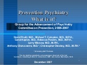 Gap Prevention Psychiatry Slides12 ...