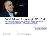 Gabriel García Márquez Power Point ...