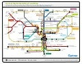 Navigating  the digital marketing transit map Guide