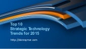 Gartner: Top 10 Technology Trends 2015