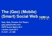The (Geo) (Mobile) (Smart) Web