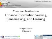 Tools and Methods to Enhance Inform...