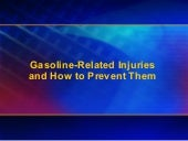 Gasoline safetypowerpointpresentation