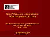 Gas petroleo imperialismo