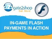 How to implement in-game flash paym...