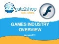 Gate2Shop Games Industry Overview.