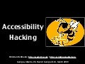 Georgia Tech hacking Accessibility