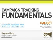 Google Analytics Campaign Tracking Fundamentals