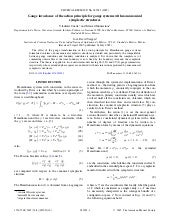 Gauge Invariance Of The Action Prin...
