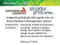 Integrating Multiple Microgrids into an Active Network Management System