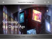 Spirituality in a Digital Age: A Talk given at Greenbelt 2014