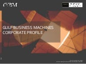 GBM Corporate Profile presentation