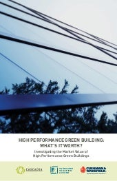 High Performance Green Building: Wh...