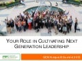 YNPN Pillars of Leadership Development