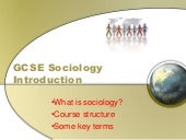 GCSE Sociology Introduction