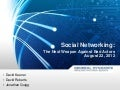 Social Networking: The Next Weapon Against Bad Actors