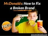 How to Fix a Broken Brand: McDonald's Case Study