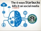 6 Ways Starbucks Kills it on Social Media