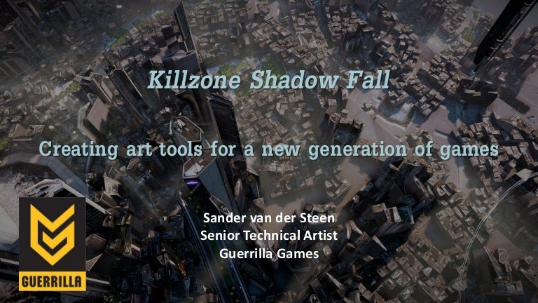 Killzone Shadow Fall: Creating Art Tools For A New Generation Of Games