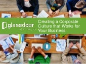 Creating a Corporate Culture that Works for Your Business