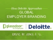 How Deloitte Approaches Global Employer Branding