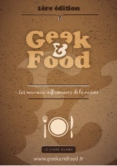 Book collaboratif Geek & Food