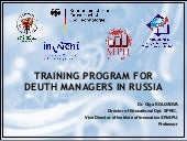 DEUTH MANAGERS IN RUSSIA