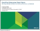 GemFire Data Fabric: Extrema performance e throughput transacional com alta disponibilidade