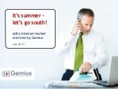 Gemius report it's_summer_lets_go_s...