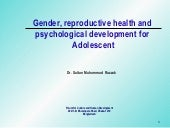 Gender, Reproductive Health And Phy...