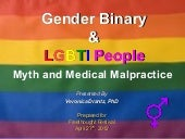 Gender Binary & LGBTI People - Myth...