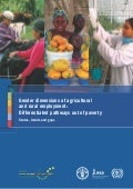 Gender dimensions of agricultural and rural employment fao