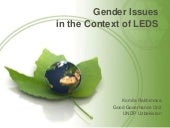 Gender Issues in the Context of Low...