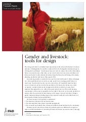 Gender and Livestock: Tools for Design
