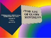 Gender movements