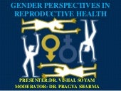 Gender perspectives of reproductive...