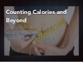 Dieting and Calorie Counting