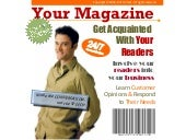 General portal solution for magazines