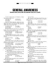 General awarenessquestionsaskedinba...