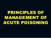 Principles of Management of Acute P...