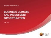 Business Climate and Investment Opp...