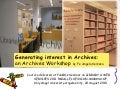 Generating interest in archives: an Archives workshop