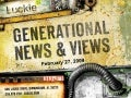 Generational News & Views Newsletter 2.29.09