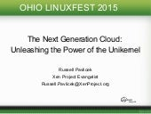 Next Generation Cloud: Rise of the Unikernel V2 (UPDATED)