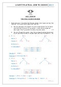 Genetic crosses worksheet