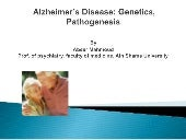 Genetics of dementia