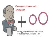 Genymotion with Jenkins