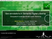 Geo-annotations in Semantic Digital...