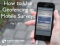 How to Use Geofencing in Mobile Surveys